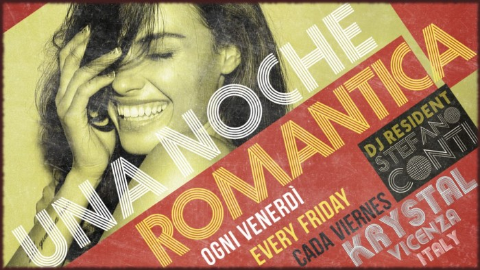 UNA NOCHE ROMANTICA  Il Venerdì Notte del Krystal