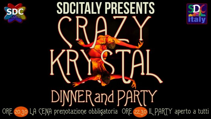 CRAZY KRYSTAL – Dinner Show and Party