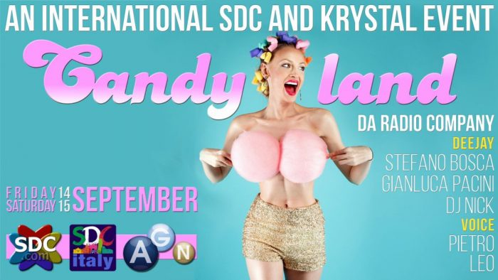 CANDYLAND - AN INTERNATIONAL SDC & KRYSTAL EVENT