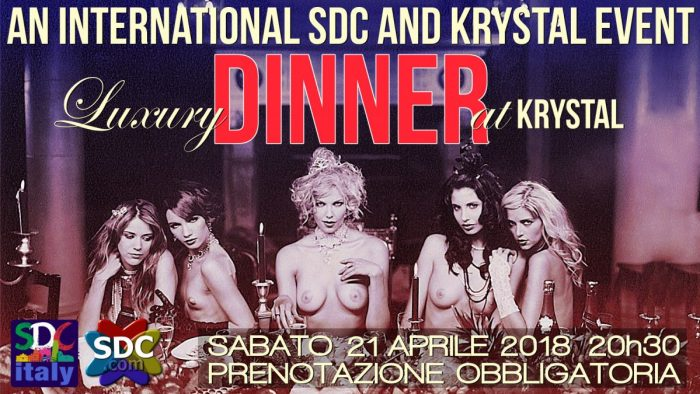 LUXURY DINNER AT KRYSTAL