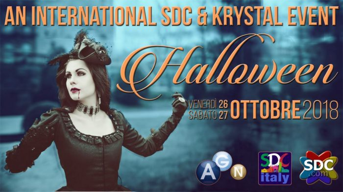HALLOWEEN - An International SDC/KRYSTAL Event - THE BIG PARTY