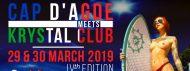 CAP D'AGDE MEETS KRYSTAL 2019 - The Warm Up