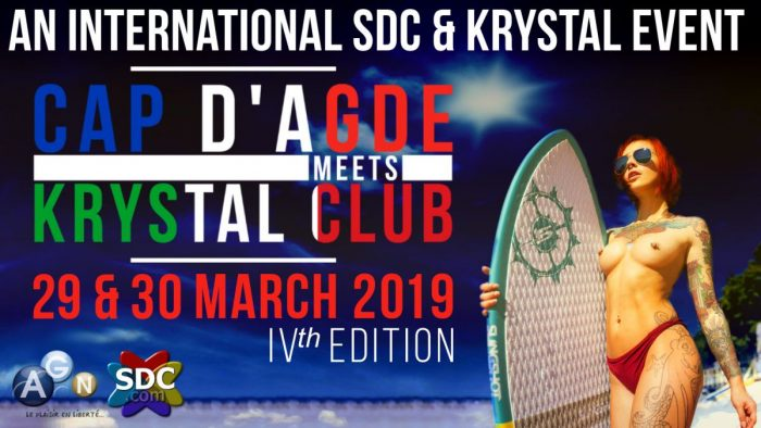 CAP D'AGDE MEETS KRYSTAL 2019 - The Big Party