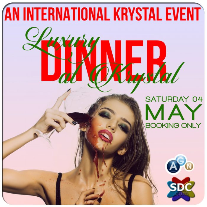 LUXURY DINNER AT KRYSTAL CLUB - posti limitati