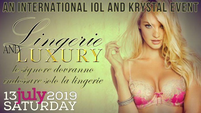 LINGERIE & LUXURY - AN INTERNATIONAL KRYSTAL AND IOL EVENT