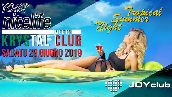 YOURNITELIFE MEETS KRYSTAL CLUB - AN INTERNATIONAL EVENT