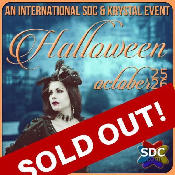 HALLOWEEN - AN SDC/KRYSTAL INTERNATIONAL EVENT - THE BIG PARTY