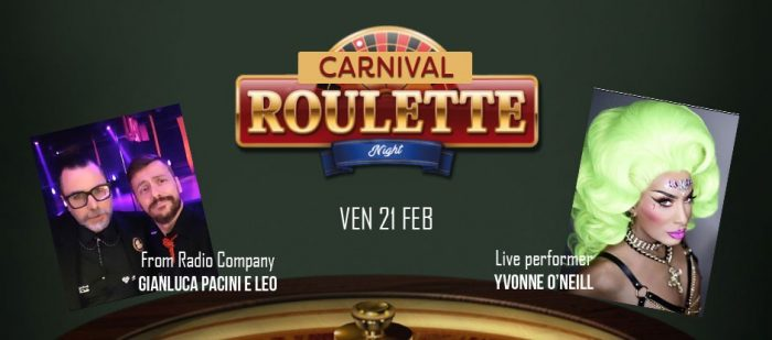 ANOTHER CARNIVAL PARTY. WARM UP#2- ROULETTE CARNIVAL EDITION - IOL & KRYSTAL INTERNATIONAL EVENT