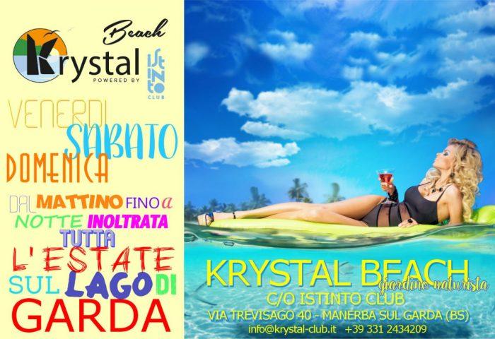 KRYSTAL BEACH. SUN-DAY