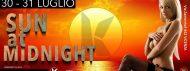 SUN AT MIDNIGHT. LA FESTA PIU' CALDA DELL'ESTATE 2K21. PER COPPIE E SINGOLI